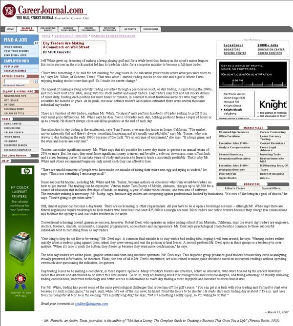 The Stock Bandit in the Media | TheStockBandit.com